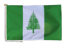 More details for norfolk island australia flag with rope and toggle - various sizes