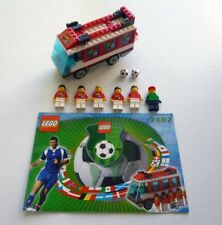 LEGO Sports Soccer/Football: 3407 Red Team Bus (100% complete + instructions)