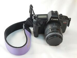 Canon EOS 620 35mm SLR Camera w OP/TECH Strap & Sigma 28-70mm Zoom Lens Japan