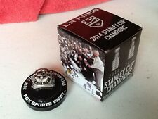 Los Angeles Kings 2014 Stanley Cup Championship Replica Ring Brand New in Box