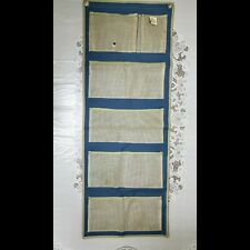 """Gardening crafts Canvas Hanging tools and Organizer With Pockets 47"""" Long 18 wi"""
