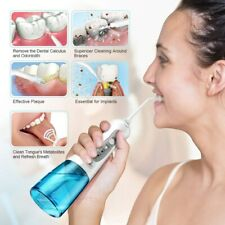 Cordless Electric Water Flosser Oral Irrigator Jet Teeth Dental Tooth Cleaner