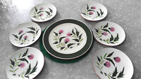 CHRISTMAS SPECIAL STANGL POTTERY THISTLE PATTERN 1 12 1/2 & 6 8 INCH PLATES
