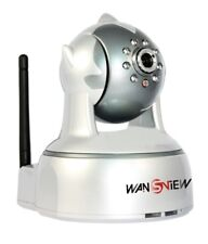 Wansview Wireless IP Camera, with Pan and Tilt, 2 way Audio