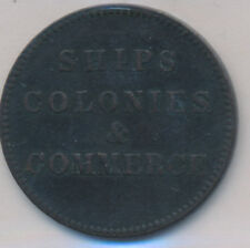 CANADA PEI TOKEN BRETON SHIP COLONIES & COMMERCE 997 LEES 28 - ICCS VF-20