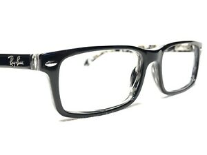 Ray Ban RB5162 2262 Men's Black Marble Modern Rx Eyeglasses Frames 52/16~140