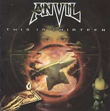 This Is Thirteen by Anvil (CD, 13 + 1 Bonus Track, 2009, VH1 Classic Records)