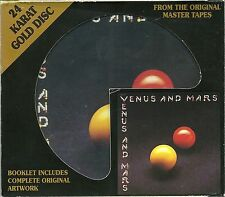 McCartney, Paul & Wings Venus and Mars DCC GOLD CD mit Slipcase GZS-1067