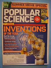 POPULAR SCIENCE Magazine June 2011 Inventions,Snowboards,Disease-Detecting Pens+