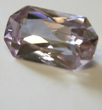 Large natural medium pink zircon...high quality gem...3.14 Carat