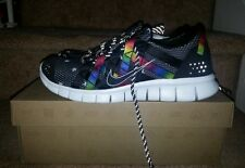 Nike FREE POWERLINES + ATMOS NRG OLYMPIC Collabo Gold Medal Moment Rainbow  9.5