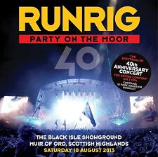 RUNRIG - PARTY ON THE MOOR (THE 40TH ANNIVERSARY CONCERT) 3 CD NEUF