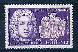 FRANCE - 1968 - yvert 1550 - F. Couperin - neuf**