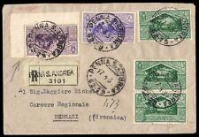 REGNO-CIRENAICA 1931 - VIRGILIO 50+50c. n.284+286+81 VALORI GEMELLI, RARA!!