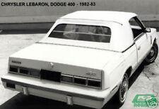 Chrysler LeBaron Plastic Window for Convertible 82-83