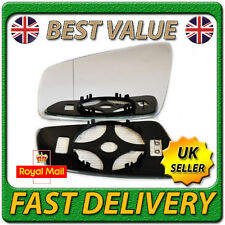 Left Passenger Side Heated Wing Door Mirror Glass for VAUXHALL ZAFIRA B 05-09