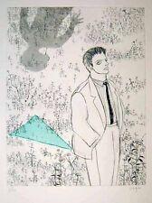 "Nobuko Itozu ""The Picture of Dorian Gray"" Original Etching S/N"
