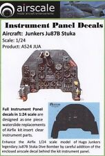 Airscale 1/24 Junkers Ju87 Stuka Instrument Panel decal 2407 (N)