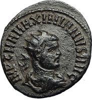 MAXIMIAN Original 293AD Authentic Ancient Roman Coin JUPITER Victory i67651