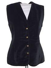 enjoy blusa gilet donna velluto nero taglia m medium