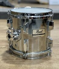 """More details for pearl professional mx series maple 8"""" rack tom chrome #649"""