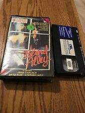 Blind Alley Anne Carlisle Rare VHS PAL Cult Horror