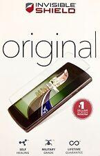 LG G4 vera ZAGG INVISIBLE SHIELD ORIGINALE Premium Pellicola Proteggi Schermo