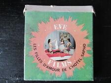 FILM SUPER 8 VINTAGE EROTIC : EVE FILMS : LES FILLES D'AMOUR DE L'HOTEL SAPHO