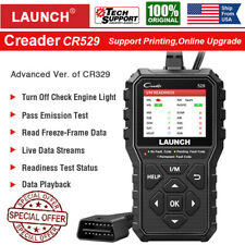 LAUNCH CR529 OBDII OBD2 Engine Universal Car Code Reader Scanner Diagnostic Tool