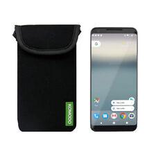Komodo Google Pixel 2  Neoprene Mobile Phone Pouch Pocket Cover Case Skin //