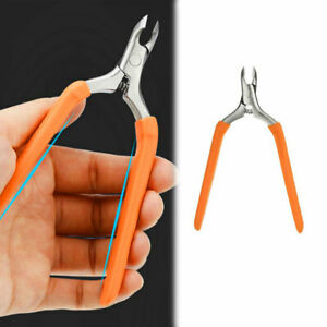 Stainless Steel Sharp Toe Nail Clipper Cuticle Scissors Nippers Manicure Tool