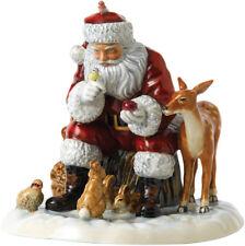 ROYAL DOULTON 'A WOODLAND CHRISTMAS' FATHER XMAS FIGURE 2017 (HN5855) NEW/BOXED