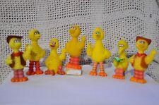 Sesame Street big birds Figures lot of 7 different big birds poses