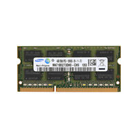 para 4 GB Samsung 4GB 2Rx8 PC3-10600 DDR3 1333 Mhz SODIMM laptop de memoria RAM
