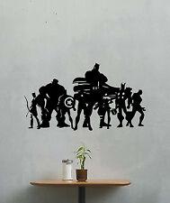 Superheroes Wall Decal Avengers Comic Vinyl Sticker Super Hero Poster Decor 436