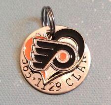 Philadelphia Flyers NHL Custom Dog Cat Pet ID Tag, Your Pets Name & #