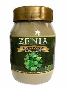 180g Zenia Natural Pure Brahmi Powder Jar (Bacopa monnieri) Edible Hair Growth