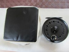 """excellent vintage youngs beaudex salmon fly fishing reel 3.75"""" + lineguard etc"""
