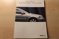 66427) Opel Astra Edition Silver Prospekt 09/1998