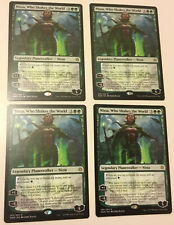 4x Nissa, Who Shakes the World MTG War of the Spark WAR NM