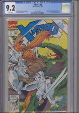 X-Force #6 CGC 9.2 1992 Marvel Evil Mutants Comic:  NEW CGC Frame