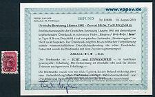 Dt. Besetzung Zarasai 60 K. gute Type kopfst. Aufdruck 7 a II B K Befund (S12006