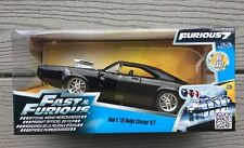 JADA 1/24 FAST AND FURIOUS DOM'S 1970 GLOSS BLACK DODGE CHARGE R/T # 97059 F/S