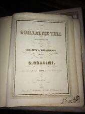 ROSSINI. OPÉRA EN 4 ACTES. VERS 1850.