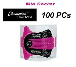 Mia Secret Champion Nail Form for Professional Nail System - 100 PCs