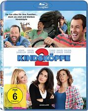 KINDSKÖPFE 2 (Adam Sandler, Kevin James, Chris Rock) Blu-ray Disc NEU+OVP