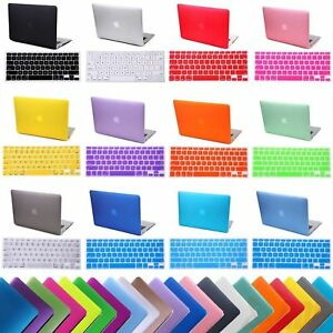 """Rubberized Hard Case for Macbook Pro 15.4"""" A1286 A1707 A1990 A1398"""