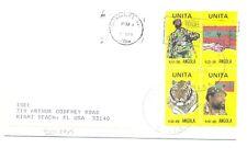 ANGOLA 1986 -UNITA - BLOCK OF 4 -REBEL FREEDOM - + DOC --VF