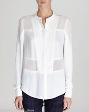 Polyester Crew Neck Fitted Formal Tops & Shirts for Women