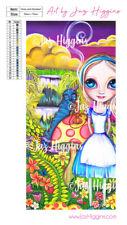 5D Diamond Painting Kit Alice and Absolem in Wonderland Dot Art Jaz Higgins Girl